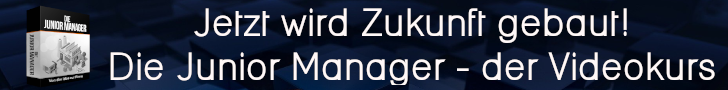 Banner Videokurs junior manager