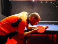 Tischtennis Aufschlag / Rückschlag
